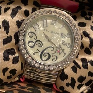 Rare Betsey Johnson watch